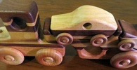 Wooden toys cars trucks 1 195 100